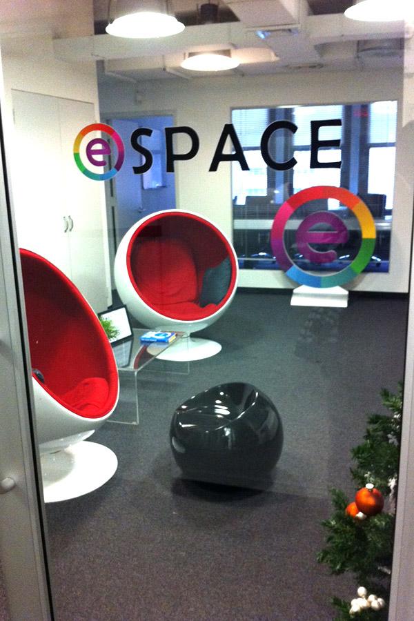 Sala de espera en Entrepreneurs Roundtable Accelerator New York