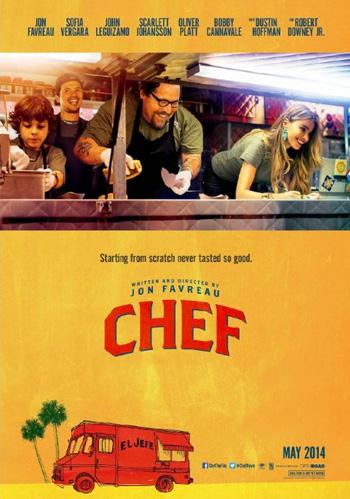 Cartel promocional de la película 'Chef'