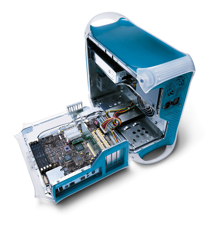 Interior de un Apple Mac G3
