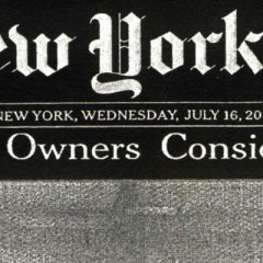 La llegada de la publicidad del Times, factor determinante para el fin de su imprenta