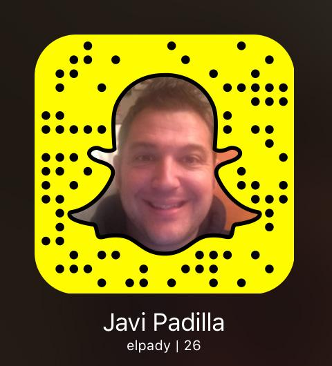 Snapcode de Javi Padilla (elpady)