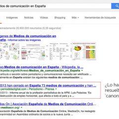¿En qué se equivocan Wert y los editores españoles con Google?